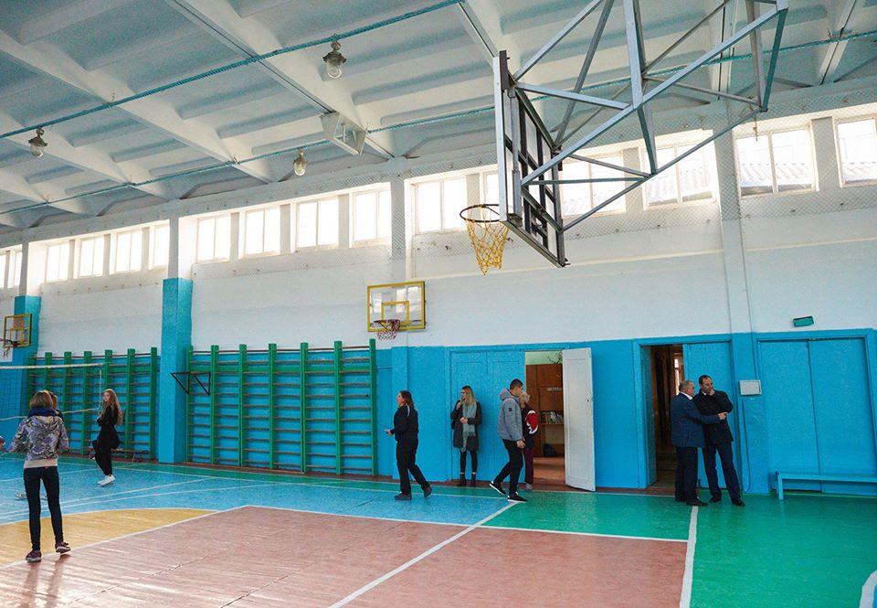 Триває ремонт спортзалу у школі №19 (ФОТО)