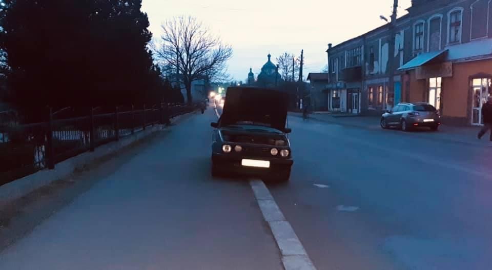 У Бурштині знайшли одну з викрадених напередодні автівок. Зловмисником виявився підліток (ФОТО)