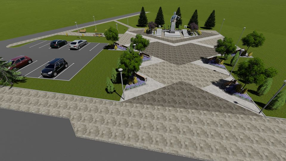 Парковка і озеленення: у Вигоді за понад мільйон гривень відремонтують площу (ПРОЄКТ)