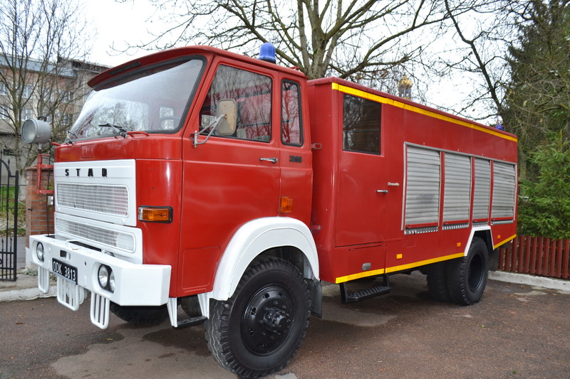 Рятувальники Тисмениччини отримали від поляків пожежний автомобіль (ФОТО)