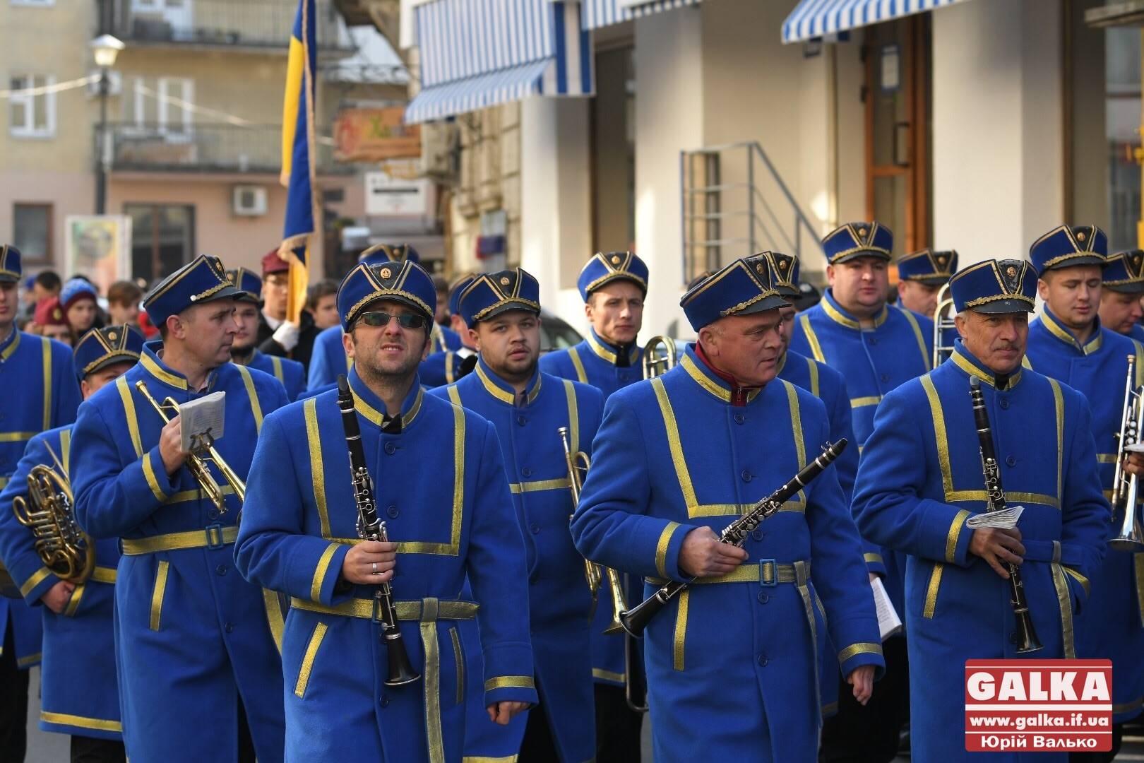 Урочистою ходою і віче франківці відзначають сто першу річницю проголошення ЗУНР (ФОТО, ВІДЕО)