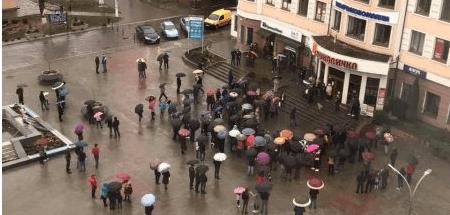 Повернути екологічний податок – головна вимога мітингарів у Бурштині