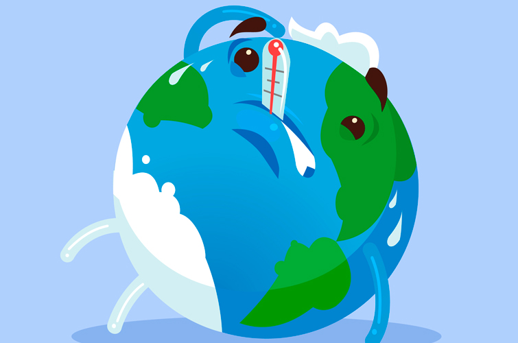 Жовтень 2019-го був найспекотнішим в історії Землі – вчені