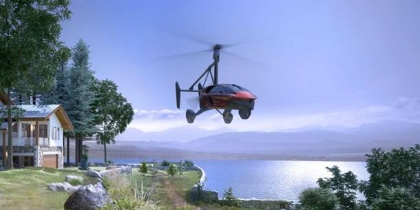 У США представили прототип літаючого автомобіля (ФОТО)