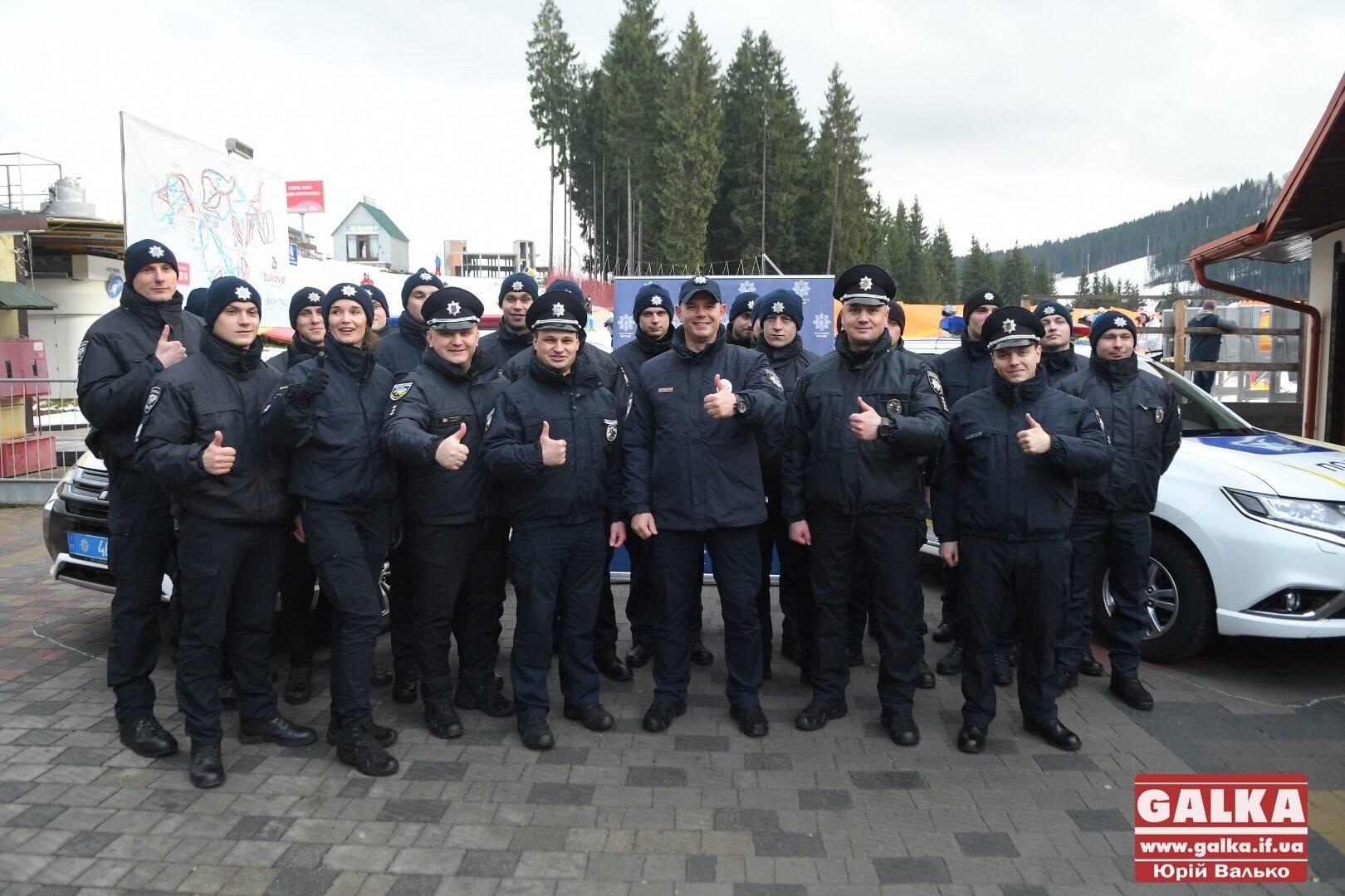 Працюватимуть цілодобово: на Буковелі відкрили станцію патрульної поліції (ФОТО)