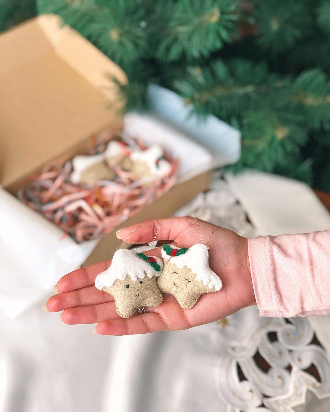 Як франківка виготовляє м'які новорічні прикраси та іграшки (ФОТО)