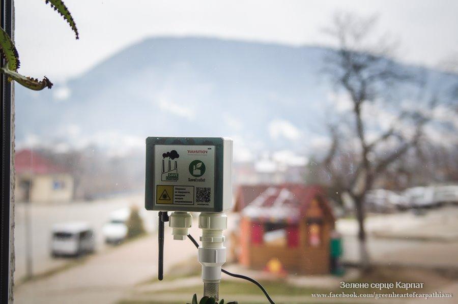 У Верховині встановили станцію моніторингу якості повітря (ФОТО)