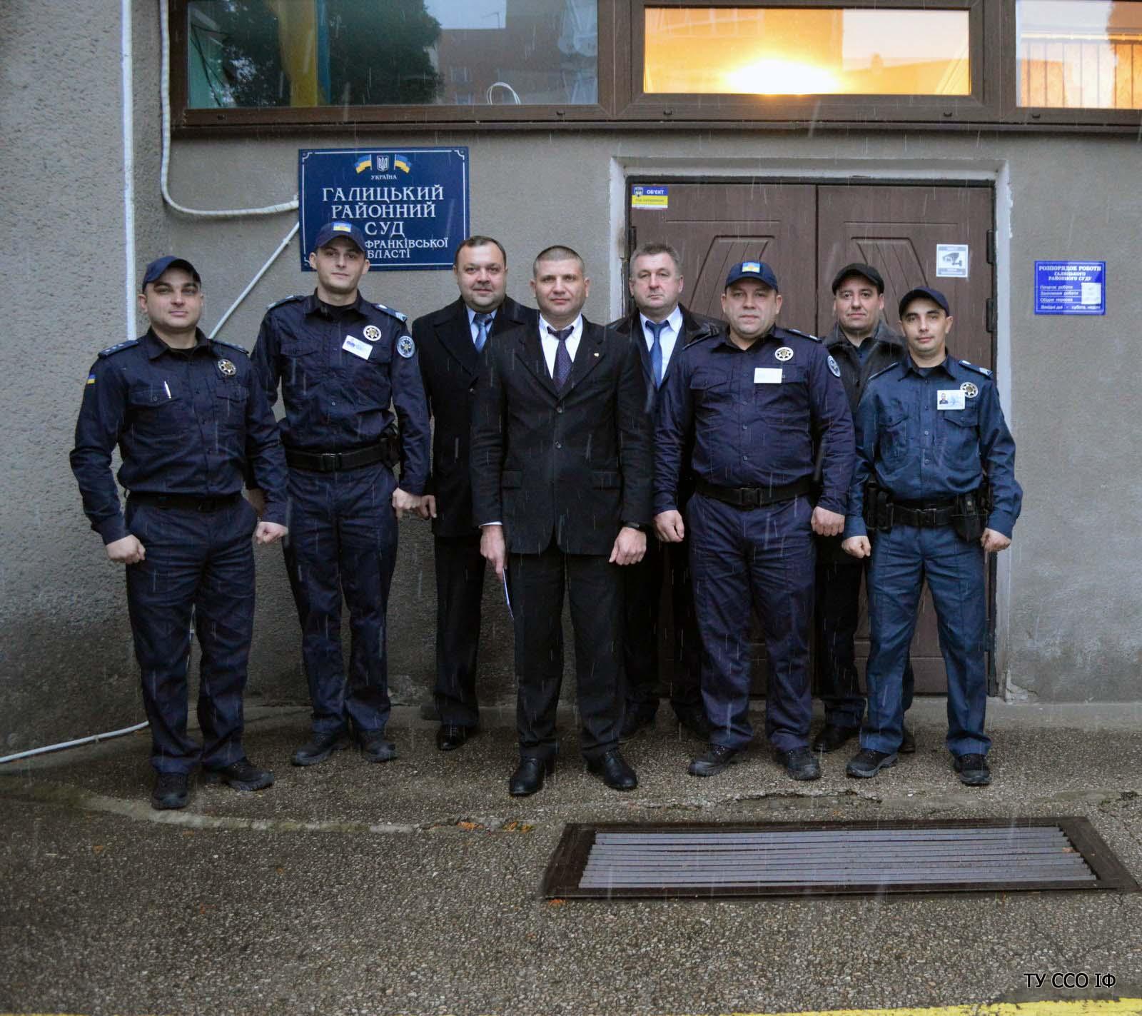 Служба судової охорони взяла під варту будинок правосуддя у Галичі (ФОТО)