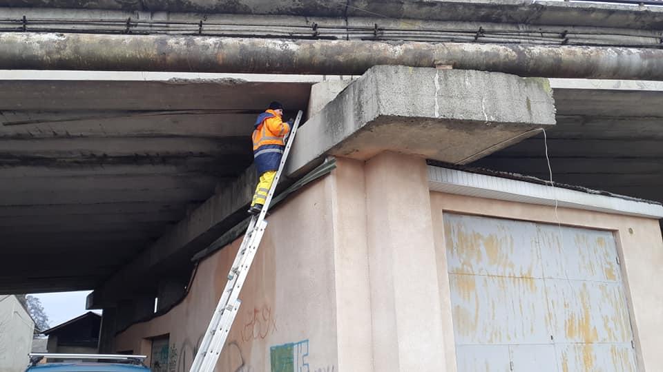 Міст не впаде, але ремонту потребує, – керівник МДК про шляхопровід на Незалежності (ФОТО)