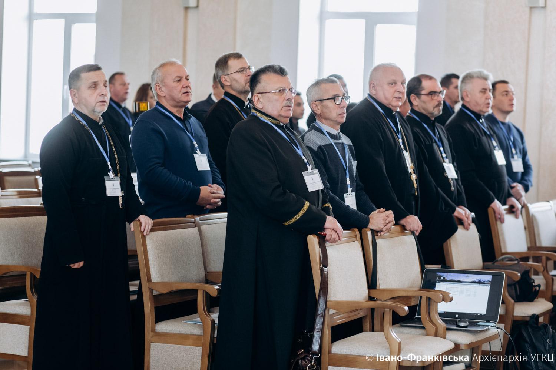 В Івано-Франківську розпочався Архієпархіальний собор