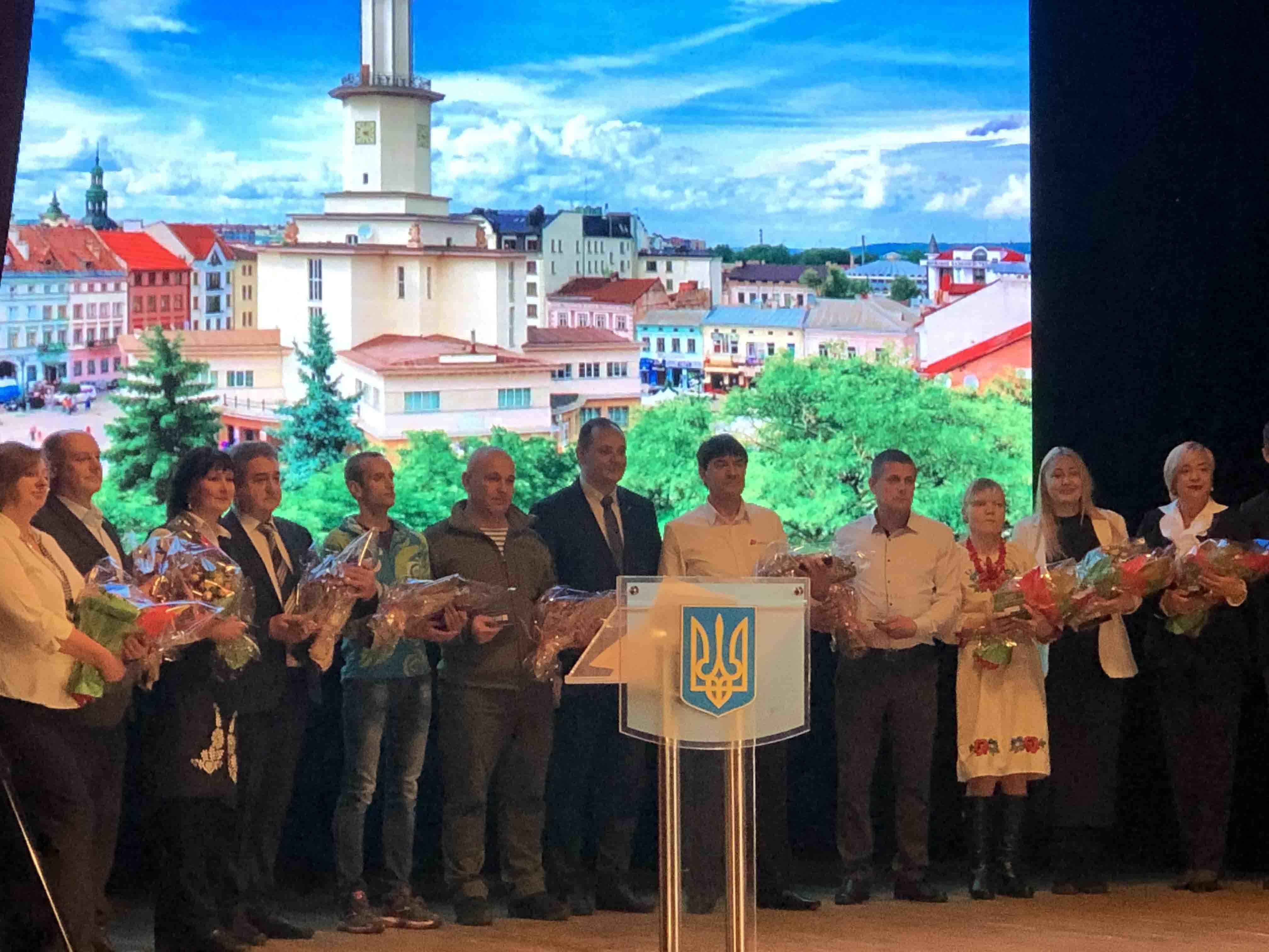Людей року відзначили в Івано-Франківську (ФОТО)
