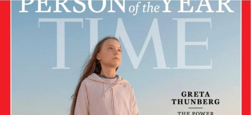 Видання TIME назвало кліматичну активістку Грету Тунберг «Людиною року 2019»
