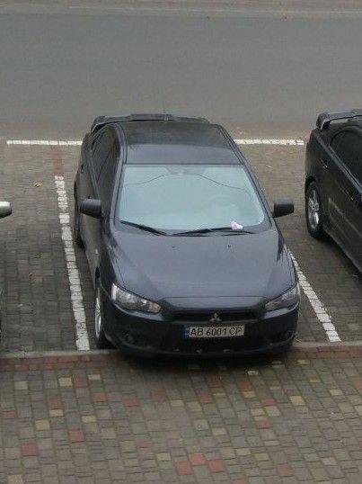 У Бурштині вночі викрали Mitsubishi Lancer X (ФОТО)