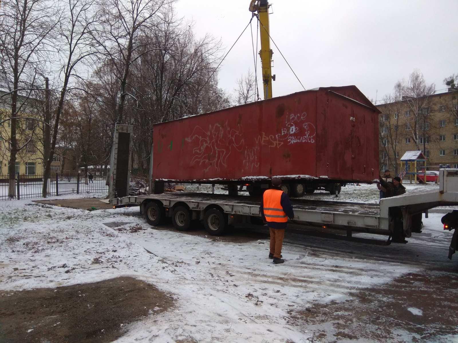 Понад 400 незаконних об'єктів демонтували цьогоріч у Франківську