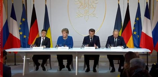 Про що домовилися Зеленський, Путін, Макрон та Меркель у Парижі (ВІДЕО)