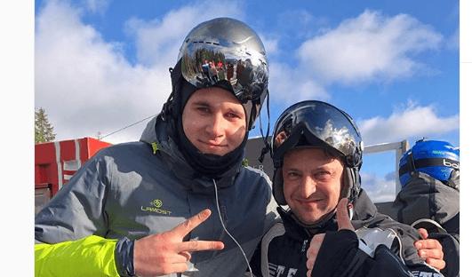 Перший день нового року Зеленський провів на гірськолижному курорті в Карпатах (ФОТОФАКТ)