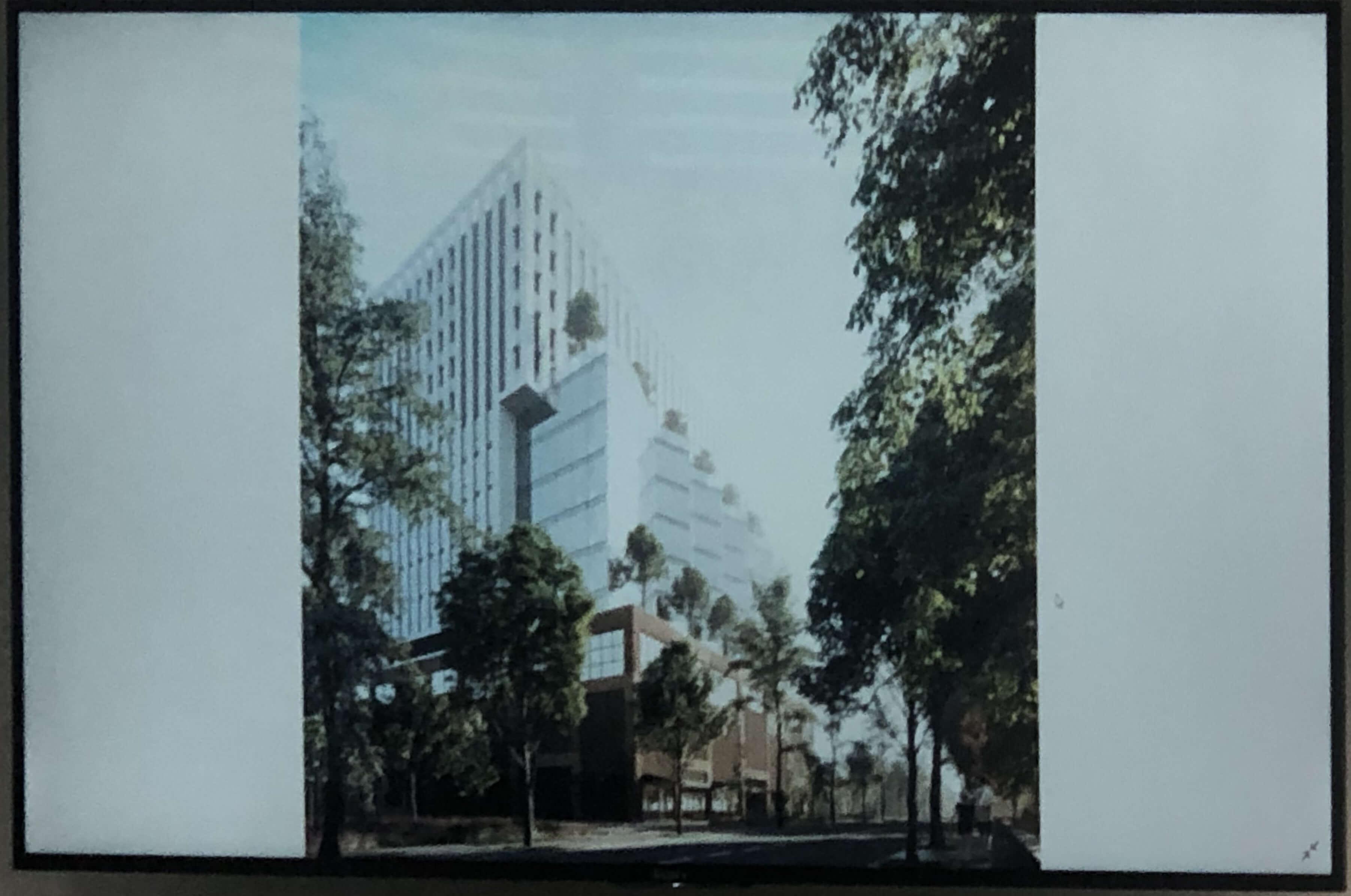 Поблизу парку Шевченка можуть звести 16-поверховий офісний центр (ПРОЄКТ)