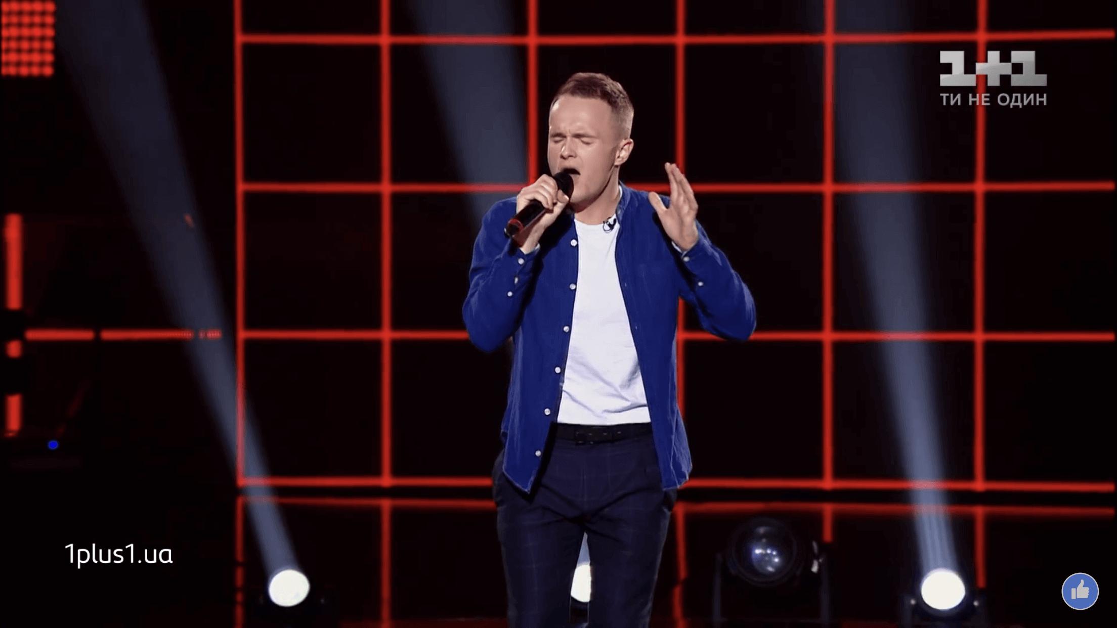 """Прикарпатець підкорив трьох суддів на шоу """"Голос країни"""" (ВІДЕО)"""