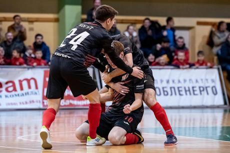 Франківські футзалісти в першому матчі року перемогли гостей з Хмельницького (ВІДЕО)