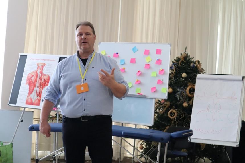 Фахівці з Німеччини вчили франківських лікарів поваги до людської гідності (ФОТО)