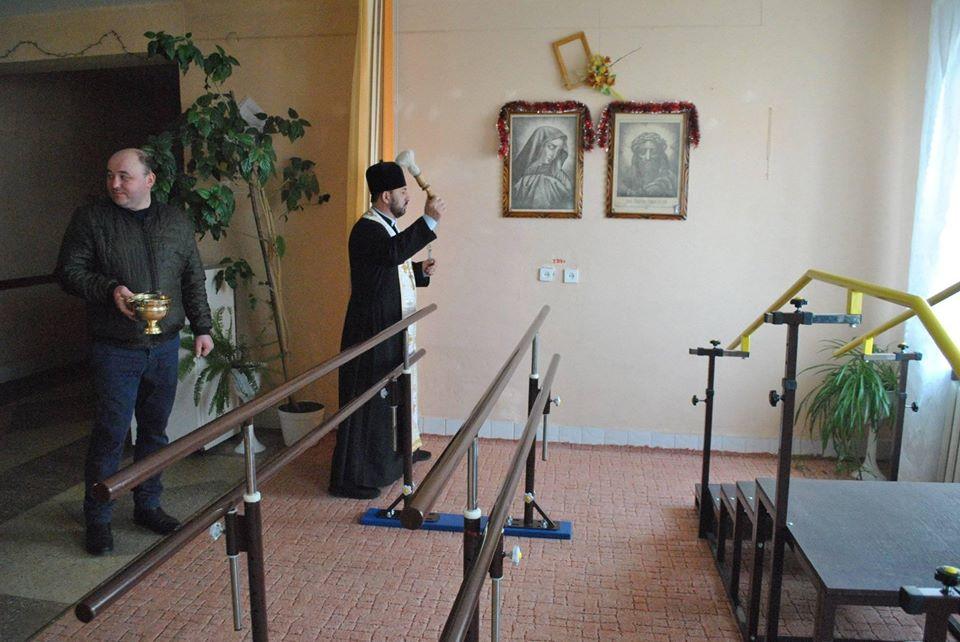 У Богородчанській райлікарні відкрили палату для реабілітації хворих після інсульту