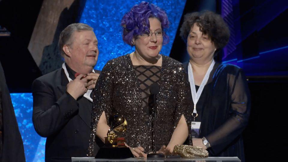 Українська піаністка отримала «Греммі» (ФОТО, ВІДЕО)
