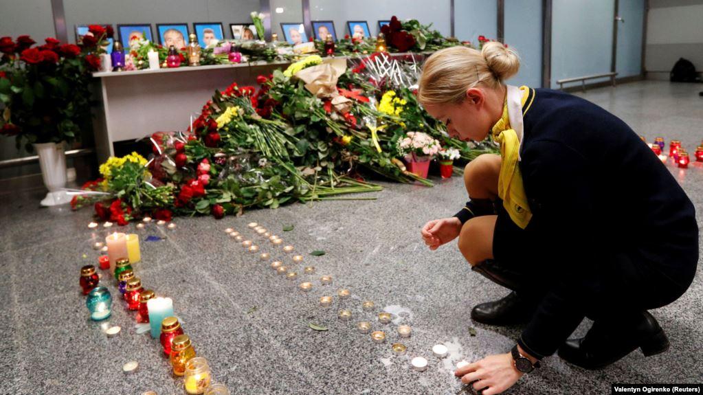 """У """"Борисполі"""" прощаються із загиблими на борту PS572 (ТРАНСЛЯЦІЯ)"""