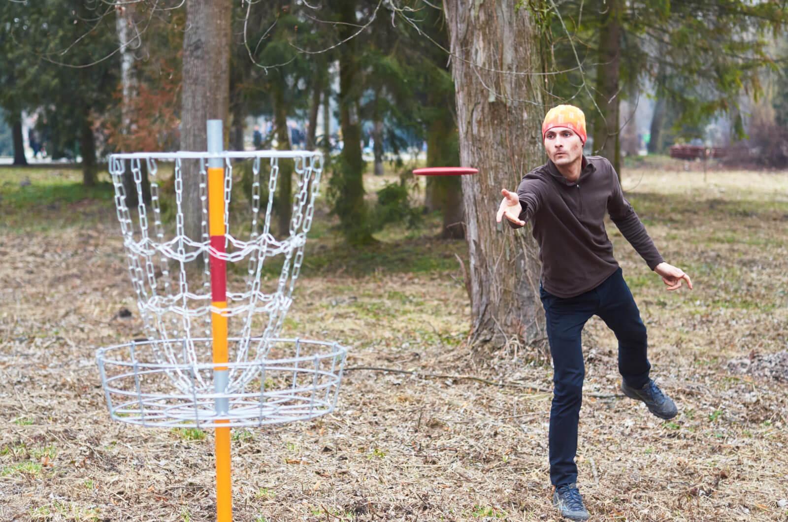 Перший в Україні стаціонарний диск-гольф парк з'явився у Франківську (ФОТО)