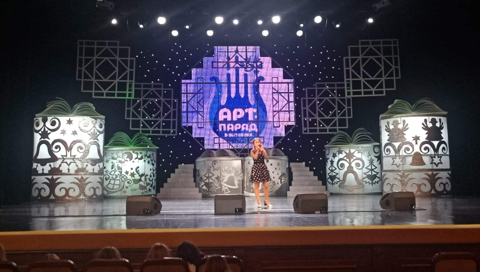 Юна франківська співачка відзначилася на фестивалі в Білорусі (ФОТО)