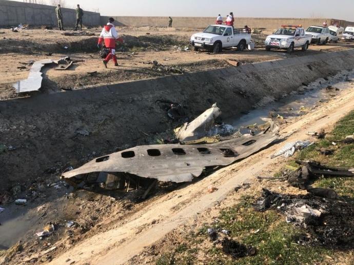 Чорні скриньки збитого над Іраном літака МАУ розшифрують в Україні