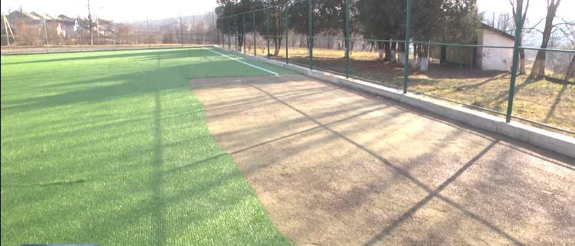 У Коломийському районі з футбольного поля вкрали штучне покриття (ВІДЕО)