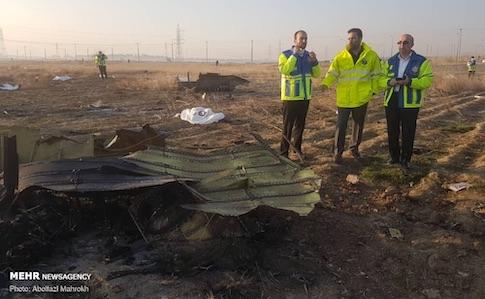 Роковини катастрофи МАУ в Ірані: українські прокурори почали досліджувати планшет зі збитого літака