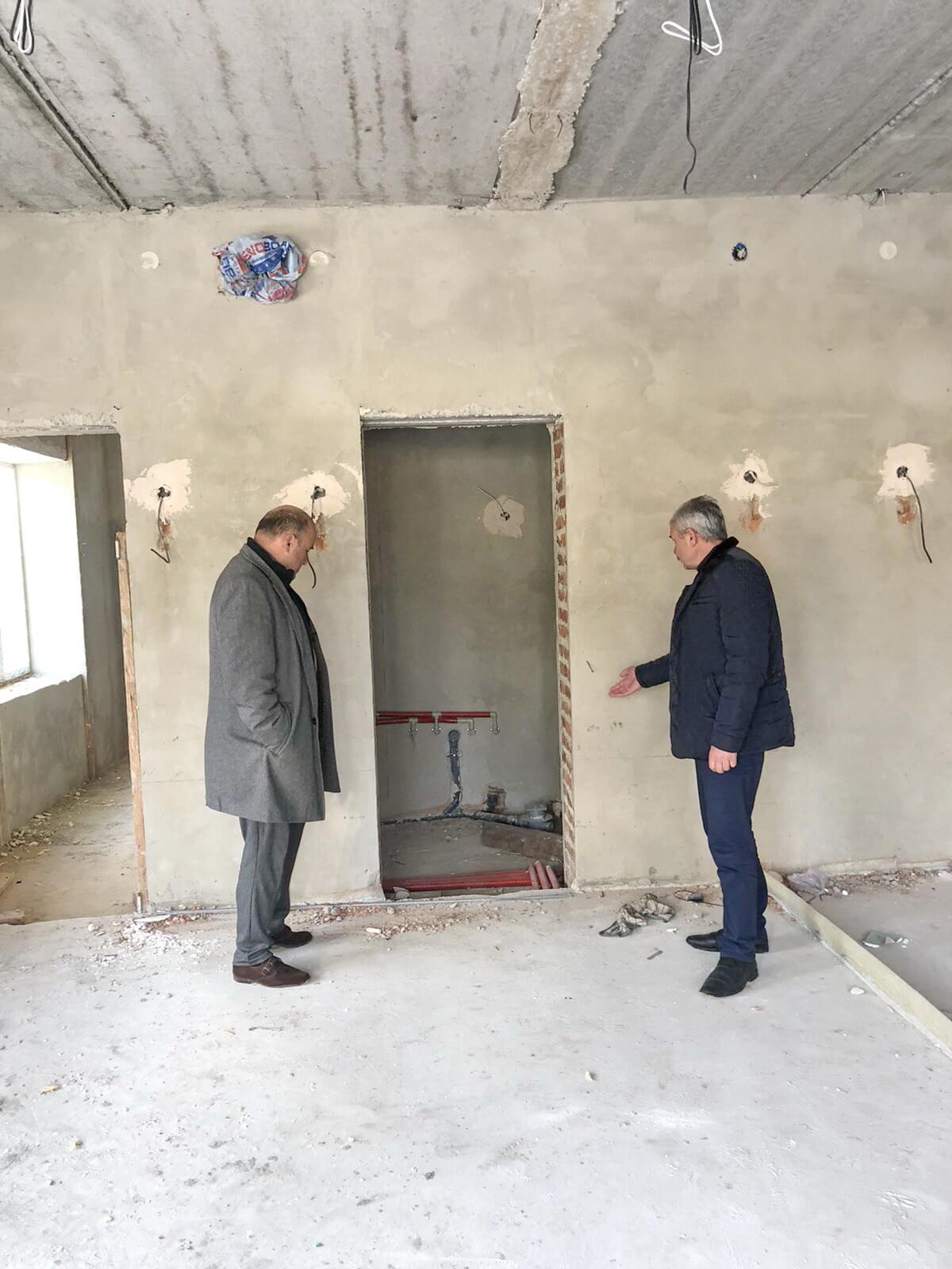 У селі на Тисмениччині будують дитячий садок (ФОТО)