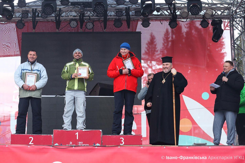 Священники та семінаристи позмагались за першість з гірськолижного спорту (ФОТО)