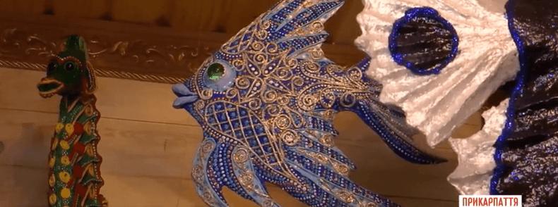 Подружжя з Івано-Франківська виготовляє з пап'є-маше копії екзотичних риб (ФОТО)