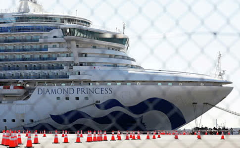 Українка з Diamond Princess вилікувалась від коронавірусу