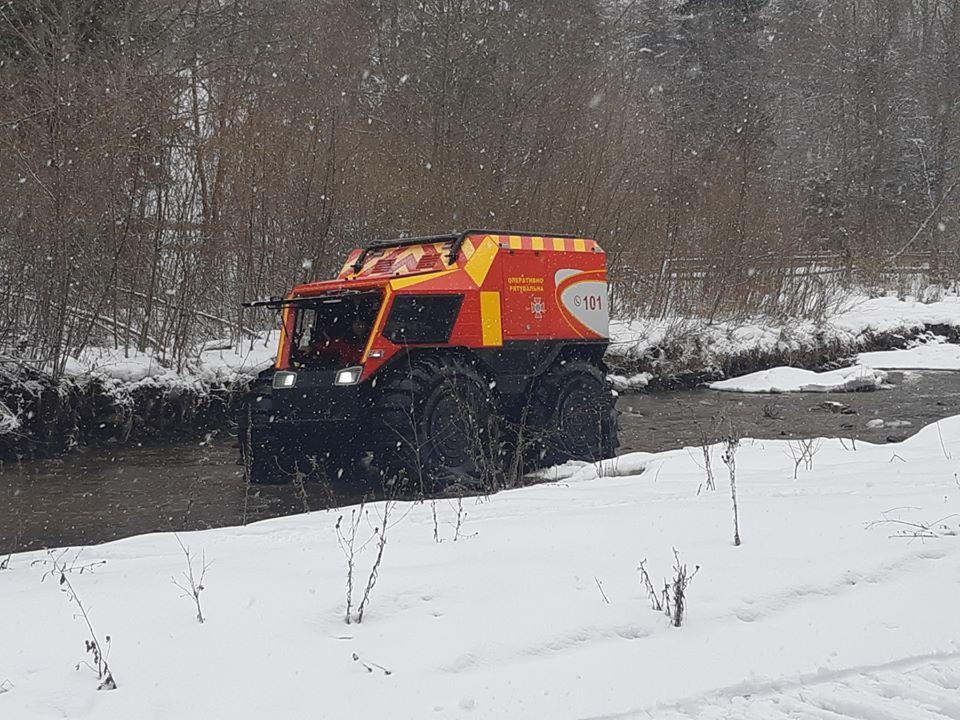 Гірські рятувальники отримають новітніснігоболотоходи для пошуку людей (ФОТО)