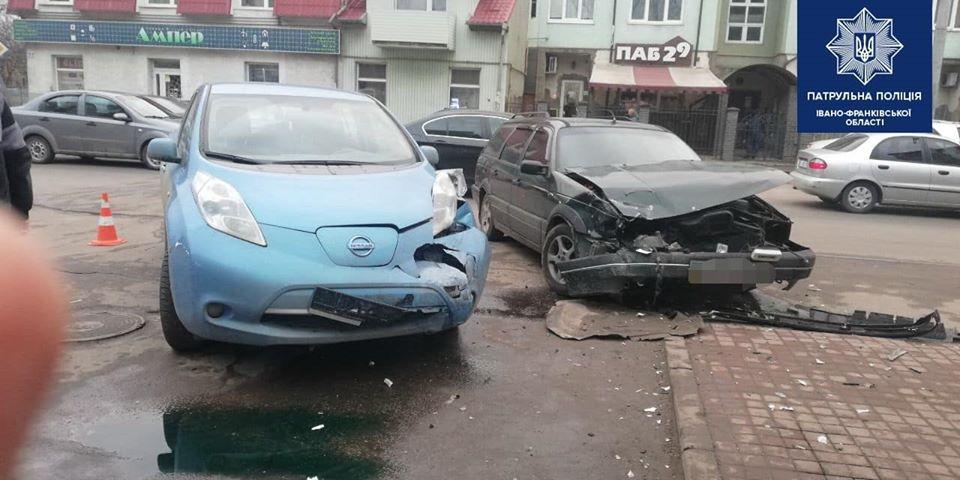 Франківець, що вчинив ДТП і втік, здався п'яним поліції (ФОТО)