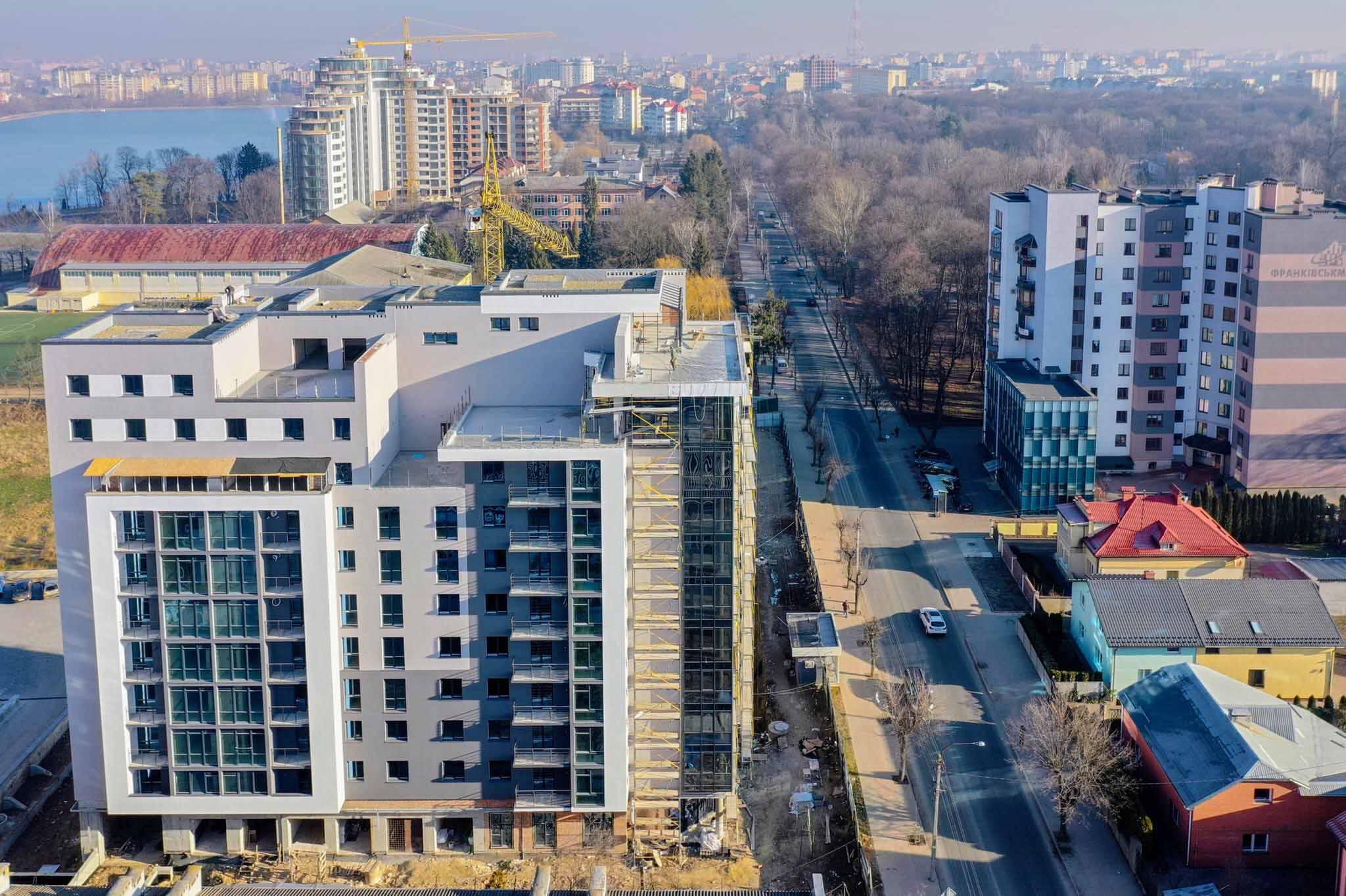 Найкращі двокімнатні квартири в районі міського озера (ФОТО, ВІДЕО)