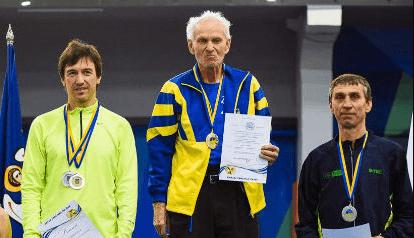 Прикарпатський ветеран встановив три рекорди начемпіонаті України з легкої атлетики (ФОТО)