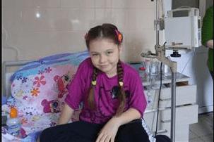 У Франківську терміново шукають донорів для 7-річної дівчинки, яка хвора на рак