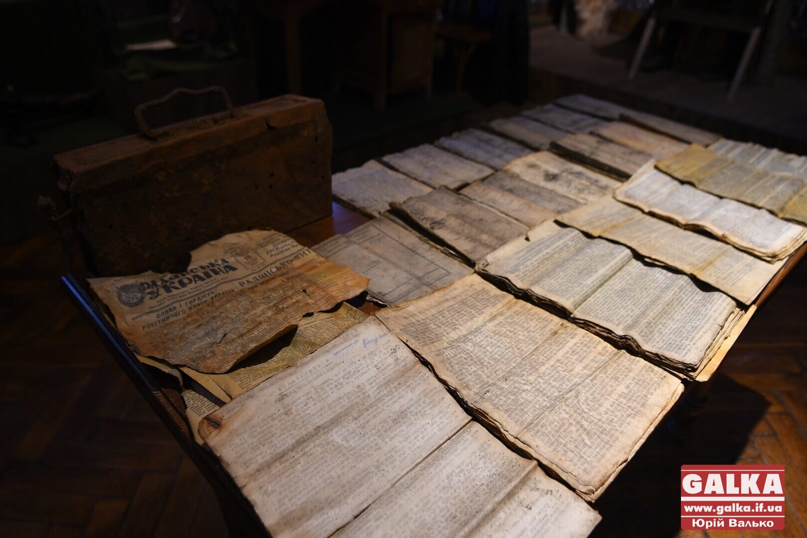 Інструкції з пропаганди та конспірації: франківський музей отримав випадково знайдений архів ОУН 50-их років (ФОТО)