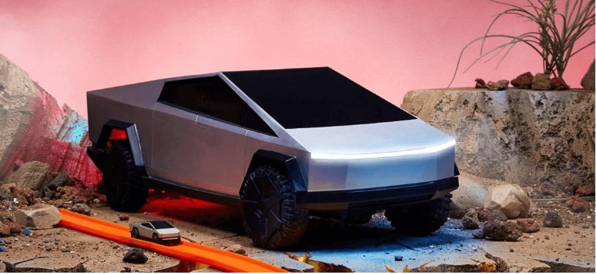 Hot Wheels випустить іграшкову копію Tesla Cybertruck