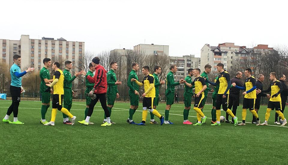 """Футболісти """"Прикарпаття"""" у товариській грі вирвали перемогу над """"Буковиною"""""""