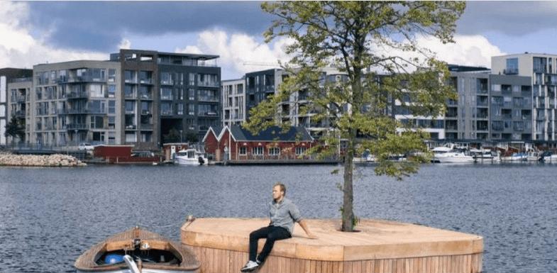 Відпочинок на воді: у Данії планують створити плавучі парки