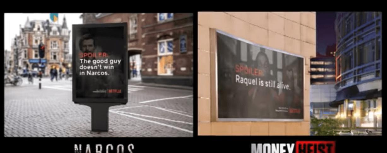 Netflix створив білборди зі спойлерами, щоб люди лишалися вдома під час карантину