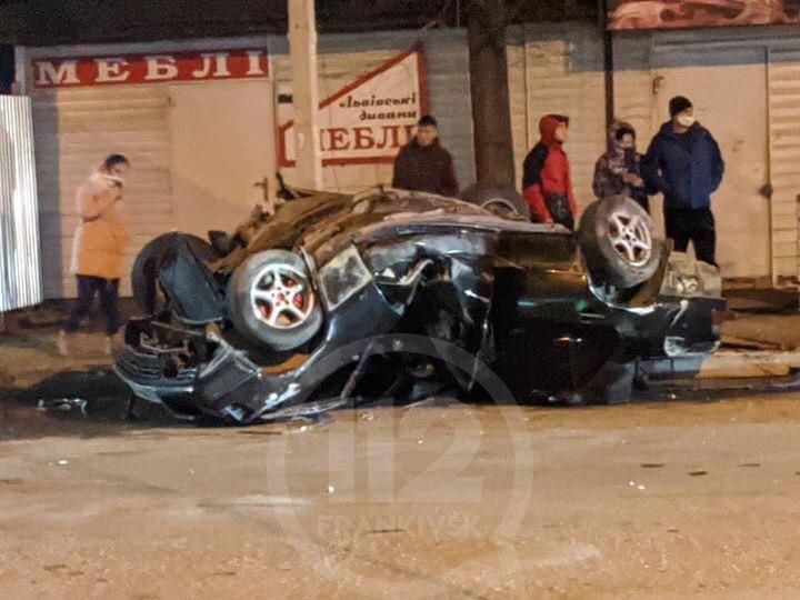 У ДТП в Надвірній травмувалися двоє людей