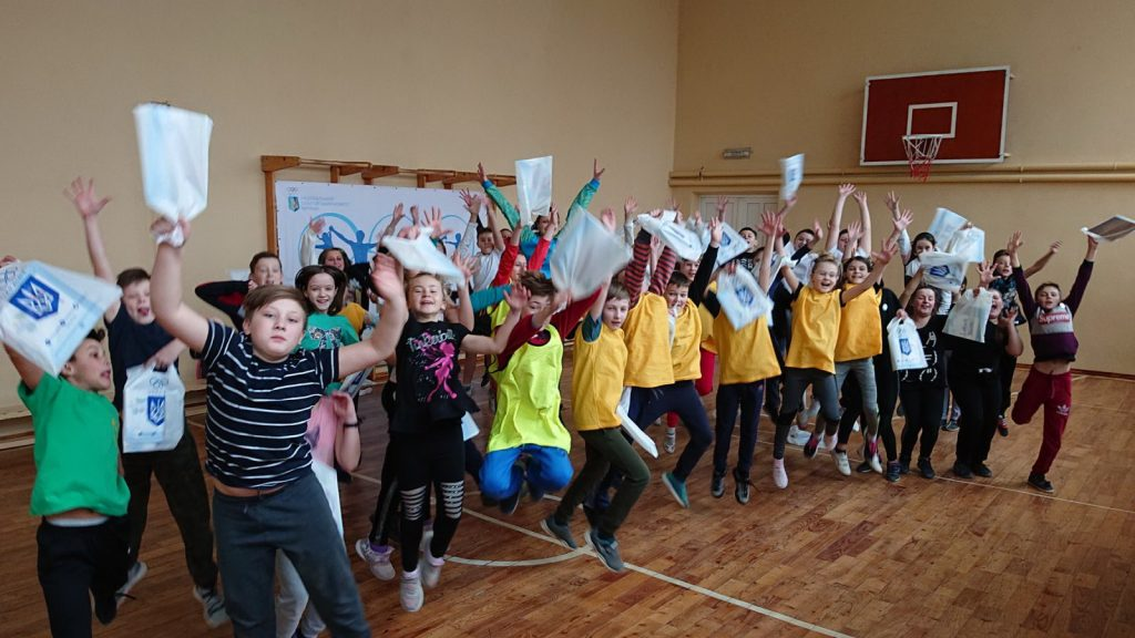Спортсменка-олімпійка провела заняття для прикарпатських школярів (ФОТО)