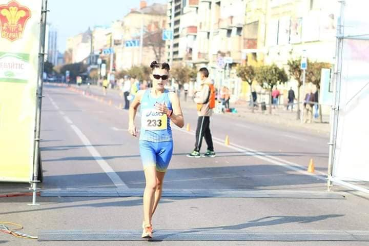 Прикарпатка у складі збірної Україна посіла перше місце на міжнародному чемпіонаті зі спортивної ходьби