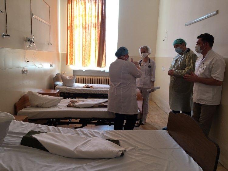 Лікарня на Матейки готова до збільшення хворих, – Марцінків (ФОТО)